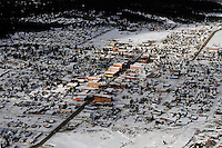 aerial of Leadville, CO