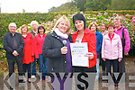 Talented singers are invited to come along and join with  the annual Singathon fund-raiser which this year will raise funds for the South Kerry branch of MS Ireland. .Front L-R Helen Kerins and Ann Mangan .Back L-R Les Nolan, Mary McAuliffe, Joan O'Sullivan, Mary Pigott, Mary O'Connor, Brenda O'Connor Doyle,  Annette Sheehan and Mary Casey. .
