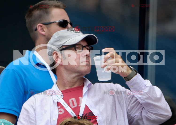 September 2, 2012: Actor Kevin Spacey attends Day 7 of the 2012 U.S. Open Tennis Championships at the USTA Billie Jean King National Tennis Center in Flushing, Queens, New York, USA. Credit: mpi105/MediaPunch Inc. /NortePhoto.com<br /> <br /> **CREDITO*OBLIGATORIO**<br /> *No*Venta*A*Terceros*<br /> *No*Sale*So*third*<br /> *** No Se Permite Hacer Archivo**