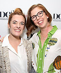 Kate Lumpkin and Laura Brandel attend the reception for the 2018 Presentation of New Works by the DGF Fellows on October 15, 2018 at the Playwrights Horizons Theatre in New York City.