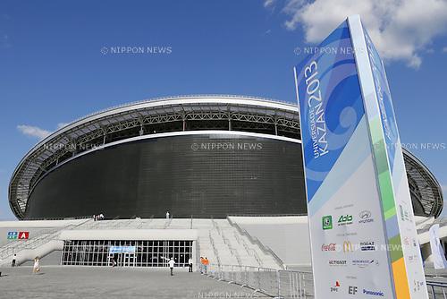 General view, JULY 4, 2013 - : View of the Main Stadium of the 27th Summer Universiade 2013 Kazan at Kazan Arena Stadium in Kazan, Russia. (Photo by Yusuke Nakanishi/AFLO SPORT)