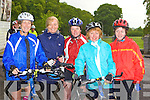 The weather girls l-r: Finola Spillane, Mirka O'Leary, Katie O'Connell, Breda Joy and Miriam McCarthy Killarney at the Ring of Kerry cycle in Killarney Saturday morning