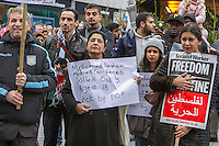 Birmingham Palestine Demo 15th Nov 2015