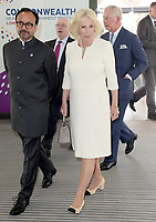Charles and Camilla at Commonwealth Big Lunch