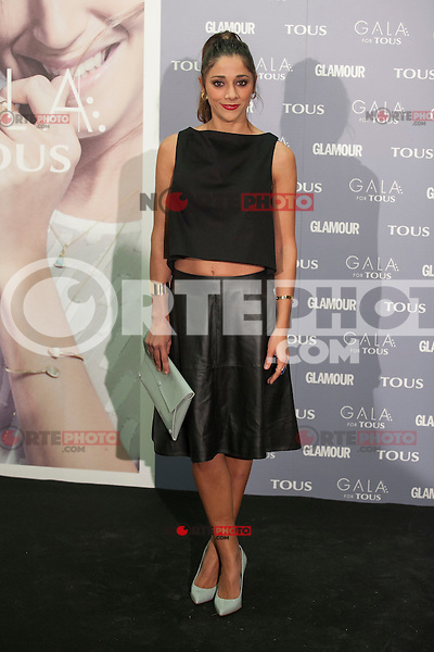 Marian Hernandez poses for the photographers during TOUS presentation in Madrid, Spain. January 21, 2015. (ALTERPHOTOS/Victor Blanco) /NortePhoto<br /> NortePhoto.com