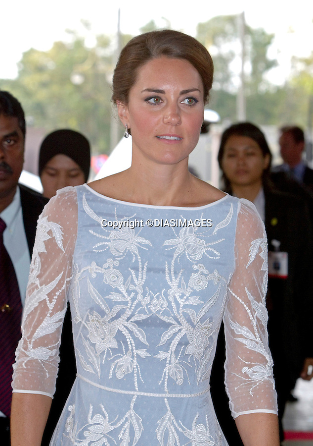"CATHERINE, DUCHESS OF CAMBRIDGE AND PRINCE WILLIAM.depart Kuala Lumpur for their trip to Danum Valley,Sabah, Malaysia_14/09/2012.Mandatory credit photo: ©IJ Pool/DIASIMAGES..""""NO UK USE FOR 28 DAYS UNTIL 12TH OCTOBER 2012""..(Failure to credit will incur a surcharge of 100% of reproduction fees)..                **ALL FEES PAYABLE TO: ""NEWSPIX INTERNATIONAL""**..IMMEDIATE CONFIRMATION OF USAGE REQUIRED:.DiasImages, 31a Chinnery Hill, Bishop's Stortford, ENGLAND CM23 3PS.Tel:+441279 324672  ; Fax: +441279656877.Mobile:  07775681153.e-mail: info@newspixinternational.co.uk"