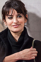 Penelope Cruz attending the opening of the movie Volver a Nacer in Madrid.
