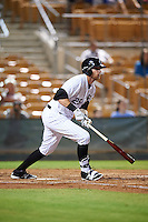 Glendale Desert Dogs Danny Hayes (25), of the Chicago White Sox organization, during a game against the Salt River Rafters on October 19, 2016 at Camelback Ranch in Glendale, Arizona.  Salt River defeated Glendale 4-2.  (Mike Janes/Four Seam Images)
