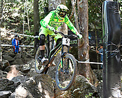 7th September 2017, Smithfield Forest, Cairns, Australia; UCI Mountain Bike World Championships; Jack Moir (AUS) from INTENSE FACTORY RACING during downhill practice