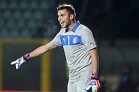 "Francesco Bardi.Siena 13/11/2012 Stadio ""Franchi"".Football Calcio Nazionale U21.Italia v Spagna.Foto Insidefoto Paolo Nucci."