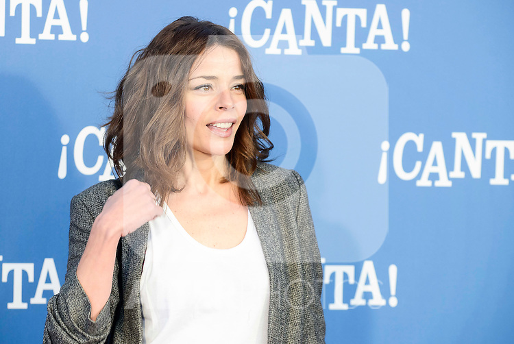 "Inma del Moral attends to the premiere of the film ""¡Canta!"" at Cines Capitol in Madrid, Spain. December 18, 2016. (ALTERPHOTOS/BorjaB.Hojas)"