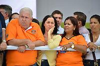 SÃO PAULO, SP, 01 DE MAIO DE 2013 - 1º DE MAIO UNIFICADO - DIA DO TRABALHO: Vice prefeira Nadia Campeão durante festa do 1º de Maio Unificado, organizado pelas centrais sindicais Força Sindical, CTB, UGT e Nova Central para comemorar o Dia do Trabalhador na manhã desta quarta feira (01) na Praça Campo de Bagatelle, em Santana, Zona Norte da Capital. FOTO: LEVI BIANCO - BRAZIL PHOTO PRESS