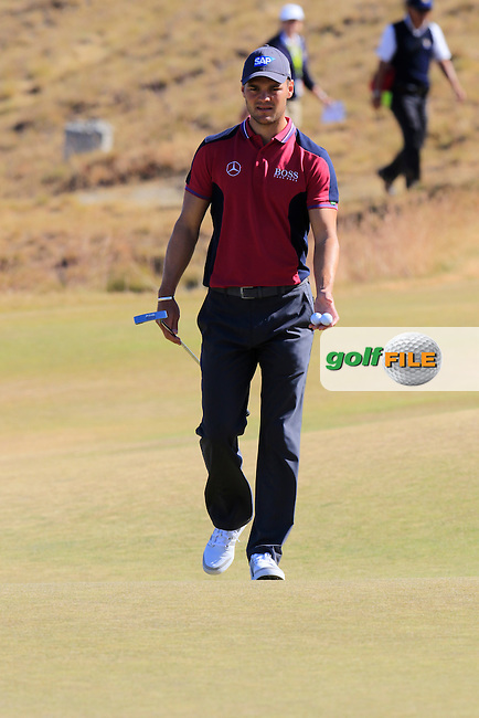 Martin Kaymer (GER) on the 17th green during Wednesday's Practice Day of the 2015 U.S. Open 115th National Championship held at Chambers Bay, Seattle, Washington, USA. 6/17/2015.<br /> Picture &copy; Golffile/Eoin Clarke
