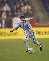Colorado Rapids defender Kosuke Kimura (27). The New England Revolution tied the Colorado Rapids, 1-1, at Gillette Stadium on May 16, 2009.