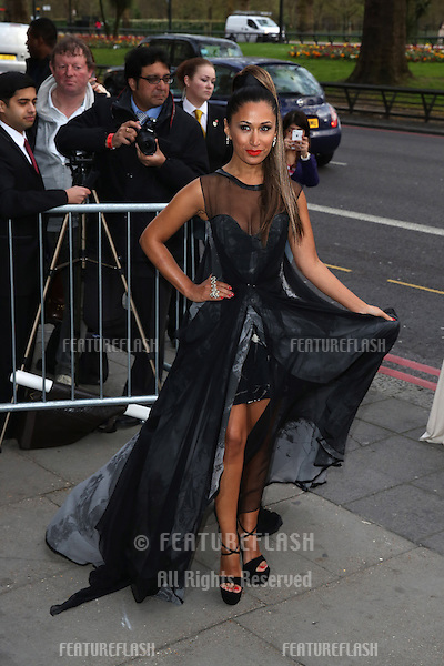 Preeya Kalidas at The Asian Awards 2014 held at Grosvenor House Hotel, London. 04/04/2014 Picture by: Henry Harris / Featureflash