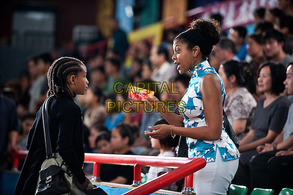 JADEN SMITH & TARAJI P. HENSON.in The Karate Kid (2010).*Filmstill - Editorial Use Only*.CAP/FB.Supplied by Capital Pictures.