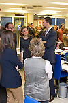 090211.MC.Ppes de Asturias visita a las instalaciones de la Cadena Cope...Madrid....Prince Felipe and Princess Letizia visit Cadena Cope Radio Station in Madrid...Photo: Miguel Cordoba / ALFAQUI