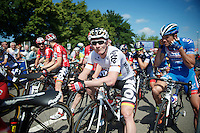 André Greipel (DEU/Lotto-Belisol) at the start<br /> <br /> 2014 Belgium Tour<br /> stage 4: Lacs de l'Eau d'Heure - Lacs de l'Eau d'Heure (178km)