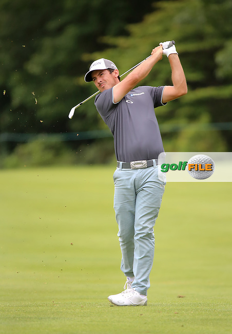 27 JUN 15 Massachusetts' PGA Tour rookie Jon Curran during Saturday's Third Round at The Travelers Championship at TPC River Highlands in Cromwell,Conn. (photo credit : kenneth e. dennis/kendennisphoto.com)