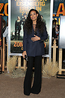 """LOS ANGELES - OCT 11:  Rosario Dawson at the """"Zombieland Double Tap"""" Premiere at the TCL Chinese Theater on October 11, 2019 in Los Angeles, CA"""