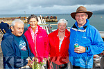 L-R Eamonn&Mary joe Murphy, Brandon, with Nora&Denis Connelly, Duagh at the Brandon regatta last Sunday.