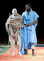 11 and 12. A CICT/Theatre des Bouffes du Nord Production adapted from the works of Amadou Hampate Ba by Marie-Helene Estienne and Peter Brook. Directed by Peter Brook.With Tunji Lucas,Makram  J  Khoury.Opens at The Barbican Theatre on 10/2/10. Credit Geraint Lewis