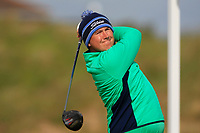 Colm Campbell (Warrenpoint) on the 5th tee during Round 1 of the The Amateur Championship 2019 at The Island Golf Club, Co. Dublin on Monday 17th June 2019.<br /> Picture:  Thos Caffrey / Golffile<br /> <br /> All photo usage must carry mandatory copyright credit (© Golffile | Thos Caffrey)
