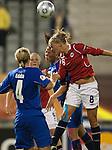 olveig Guldbrandsen, Womens' EURO 2009 in Finland.Iceland-Norway, 08272009, Lahti