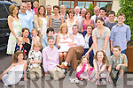Marie and Jim Dennehy, New York and Currow, pictured with their family and friends at the christening celebrations for their son Tim, which were held in The Brehon hotel on Sunday.....