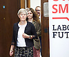 Owen Smith MP<br /> Labour Leadership candidate <br /> speaking at a press conference, 2 Savoy Place, London, Great Britain <br /> 5th September 2016 <br /> <br /> Owen Smith revealed the right-wing programme the Tory Party in 2020 could run an election on - and implement in government - if Labour continues to fail to form a credible opposition.<br /> <br /> Mr Smith outlined the policies that senior Tories, including those in Cabinet, have argued for and therefore could form the basis of the party&rsquo;s next manifesto - if the Tories felt Labour were no threat.<br /> <br /> Kate Green MP leads in the Owen Smith party  <br /> <br /> Photograph by Elliott Franks <br /> Image licensed to Elliott Franks Photography Services
