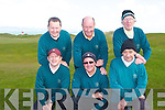 SHIELD: The Beaufort golf club team who competed in the Kerry Shield at Tralee golf club on Saturday pictured Gavin O'Loughlin, Simon Rainsford, Cal Hurley, Joe McMahon, Pat Tangney and Gerard Collins.