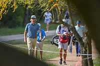 Roger Sloan (CAN) makes his way to the tee on 2 during day 1 of the Valero Texas Open, at the TPC San Antonio Oaks Course, San Antonio, Texas, USA. 4/4/2019.<br /> Picture: Golffile | Ken Murray<br /> <br /> <br /> All photo usage must carry mandatory copyright credit (© Golffile | Ken Murray)