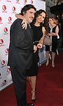 Alfred Molina and Minnie Driver arriving at 'Return To Zero Premiere' held at the Paramount Studio Theater May 1, 2014.