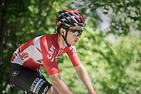 Tony Gallopin (FRA/Lotto-Soudal)<br /> <br /> stage 7: Aoste &gt; Alpe d'Huez (168km)<br /> 69th Crit&eacute;rium du Dauphin&eacute; 2017