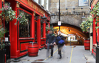 London Victorian pub Ship & Shovell, Craven Passage, Charing Cross, London, UK. Picture by Manuel Cohen