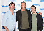 Jerry O'Connell, Jeff Goldblum & Justin Long.attending the 'SEMINAR' Come Meet The New Broadway Cast at the Roundabout Reharsal Studios in New York on 3/28/2012