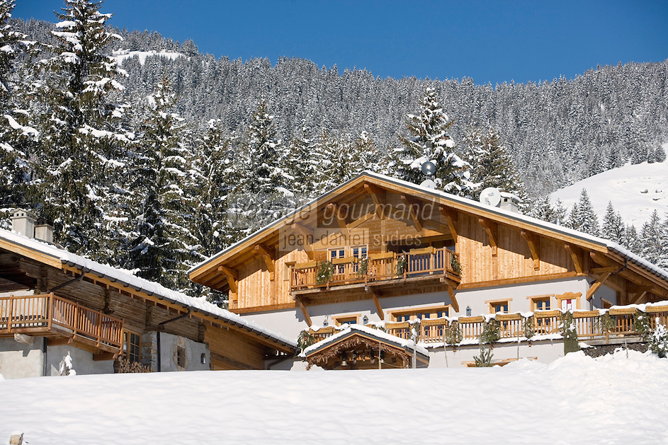 "Europe/France/Rhône-Alpes/73/Savoie/Beaufortain/Hauteluce: Hotel-Restaurant ""La Ferme du Chozal"""