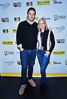 09 November 2019 - Hamilton, Ontario, Canada.  Jason MacDonald and Catherine Dyer at the 14th annual Hamilton Film Festival at the Playhouse Cinema. Photo Credit: Brent Perniac/AdMedia