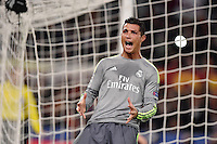 FUSSBALL CHAMPIONS LEAGUE  SAISON 2015/2016 ACHTELFINAL HINSPIEL AS Rom - Real Madrid                 17.02.2016 Cristiano Ronaldo (Real Madrid)