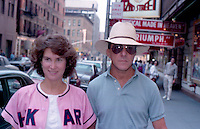 Dustin Hoffman & Wife by Jonathan Green<br />
