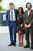 Robert Pattinson, Taliah Webster &amp; Josh Safdie at the photocall for &quot;Good Time&quot; at the 70th Festival de Cannes, Cannes, France. 25 May 2017<br /> Picture: Paul Smith/Featureflash/SilverHub 0208 004 5359 sales@silverhubmedia.com