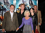 "LOS ANGELES, CA. - June 17: Taylor Hackford, Helen Mirren, Josh Homme and Brody Dalle  arrive at the ""Jonah Hex"" Los Angeles Premiere at ArcLight Cinemas Cinerama Dome on June 17, 2010 in Hollywood, California."