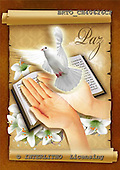 Alfredo, EASTER RELIGIOUS, OSTERN RELIGIÖS, PASCUA RELIGIOSA, paintings+++++,BRTOCH40626CP,#er# dove,paloma ,holy bible