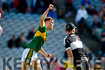David Clifford Kerry Celebrates his side's second goal against Derry in the All-Ireland Minor Footballl Final in Croke Park on Sunday.