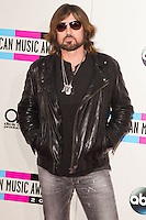 LOS ANGELES, CA - NOVEMBER 24: Billy Ray Cyrus arriving at the 2013 American Music Awards held at Nokia Theatre L.A. Live on November 24, 2013 in Los Angeles, California. (Photo by Celebrity Monitor)