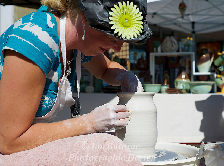 Pottery Wheel Arts Alive Festival Langley City