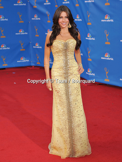 Sofia Vergara<br /> 62th Emmy Awards - 2010 at the Nokia Theatre in Los Angeles.