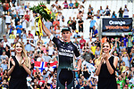 Maciej Bodnar (POL) Bora-Hansgrohe wins Stage 20 of the 104th edition of the Tour de France 2017, an individual time trial running 22.5km from Marseille to Marseille, France. 22nd July 2017.<br /> Picture: ASO/Alex Broadway | Cyclefile<br /> <br /> <br /> All photos usage must carry mandatory copyright credit (&copy; Cyclefile | ASO/Alex Broadway)