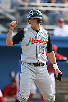 July 14th 2008:  Lee Ellis of the Aberdeen Ironbirds, Class-A affiliate of the Baltimore Orioles, during a game at Dwyer Stadium in Batavia, NY.  Photo by:  Mike Janes/Four Seam Images