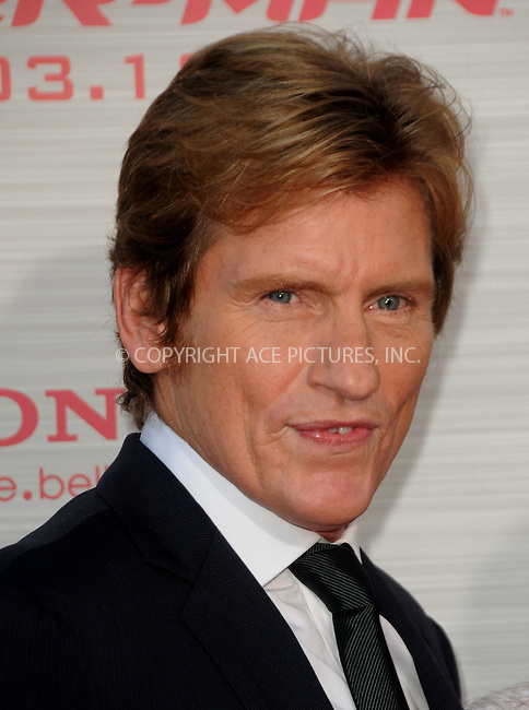 WWW.ACEPIXS.COM . . . . .  ....June 28 2012, LA....Actor Denis Leary arriving at the premiere of Columbia Pictures' 'The Amazing Spider-Man' at the Regency Village Theatre on June 28, 2012 in Westwood, California....Please byline: PETER WEST - ACE PICTURES.... *** ***..Ace Pictures, Inc:  ..Philip Vaughan (212) 243-8787 or (646) 769 0430..e-mail: info@acepixs.com..web: http://www.acepixs.com